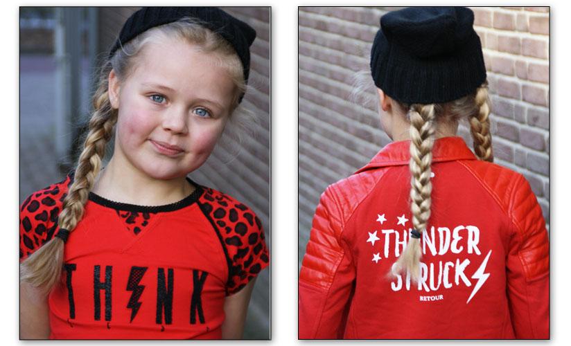 Retour Jeans zomer 2018, rode meisjeskleding, OOTD