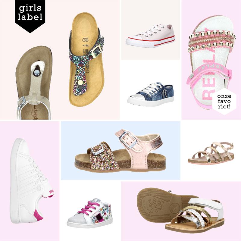 Zomerschoenen meisjes, meisjes schoenentrends, meisjesschoenen