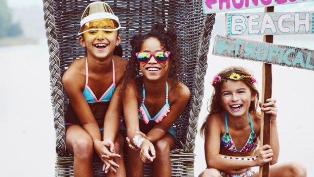 hippe badkleding voor meisjes, meisjes bikini