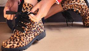 hippe meisjesschoenen, meisjeslaarsjes, enkellaarsjes, panter boots