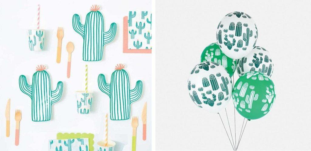 kinderfeest thema's, cactus kinderfeestje