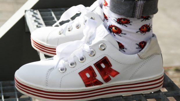 Schoenen Kinderschoenen.Toffe Red Rag Sneakers Meisjesschoenen Girlslabel