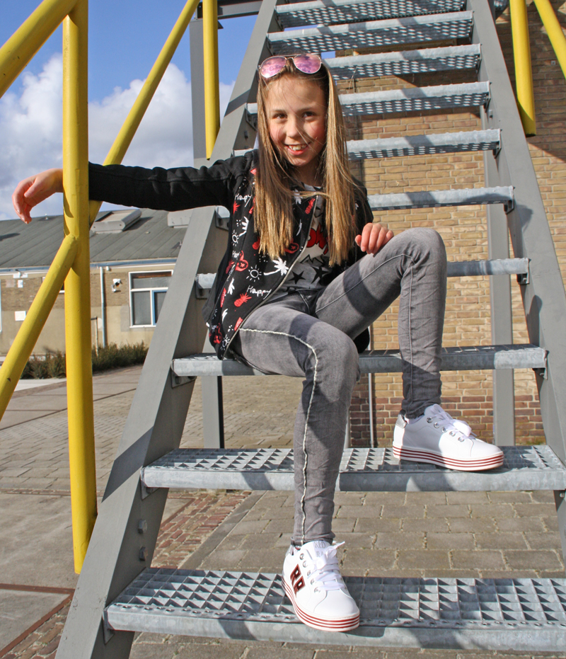 red rag sneakers, meisjessneakers, redrag kinderschoenen