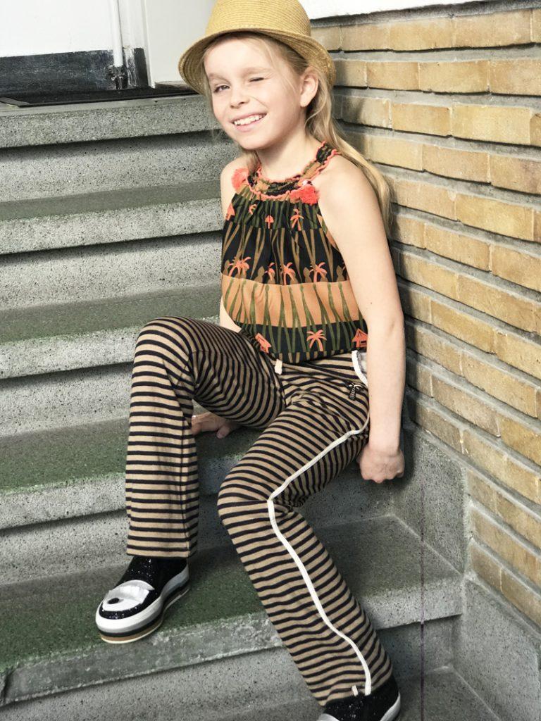 zomerse meisjeskleding, girlslabel, prints, trendy meisjeskleding
