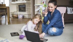 schoolvakanties, schoolvakantie en werken, werkende moeder