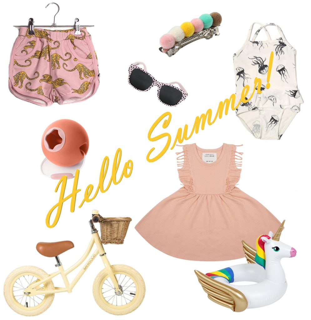Zomerse Musthaves, Zomerse Musthaves voor meisjes