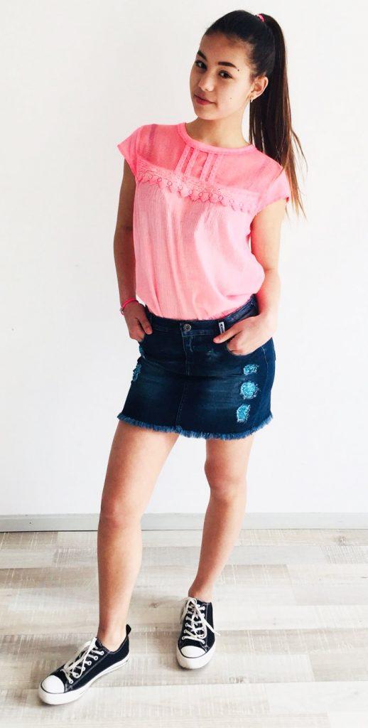 ibiza style, ibiza jurkje, meisjes ibiza kleding, ibizakleding voor meisjes, zomerkleding meisjes, spijkerrokje meisjes, retour jeans