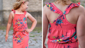 maxi dress voor meisjes, lange jurkjen voor meisjes, meisjes zomerjurken