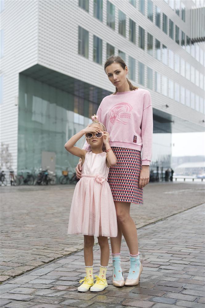 mini me mode, twinning moeder dochter, bonnie doon, sokken