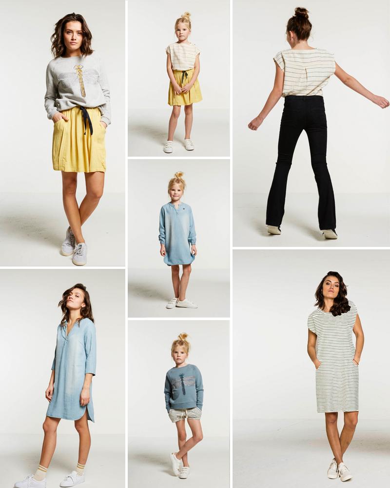 mini me mode, twinning moeder dochter, mama dochter kleding, bybar, girlslabel