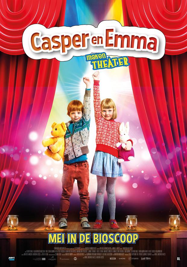casper en emma, casper en emma maken theater
