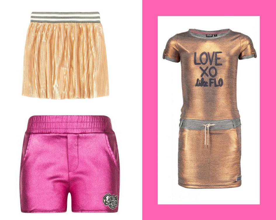 metallics, merkkleding sale, zomer sale, meisjeskleding