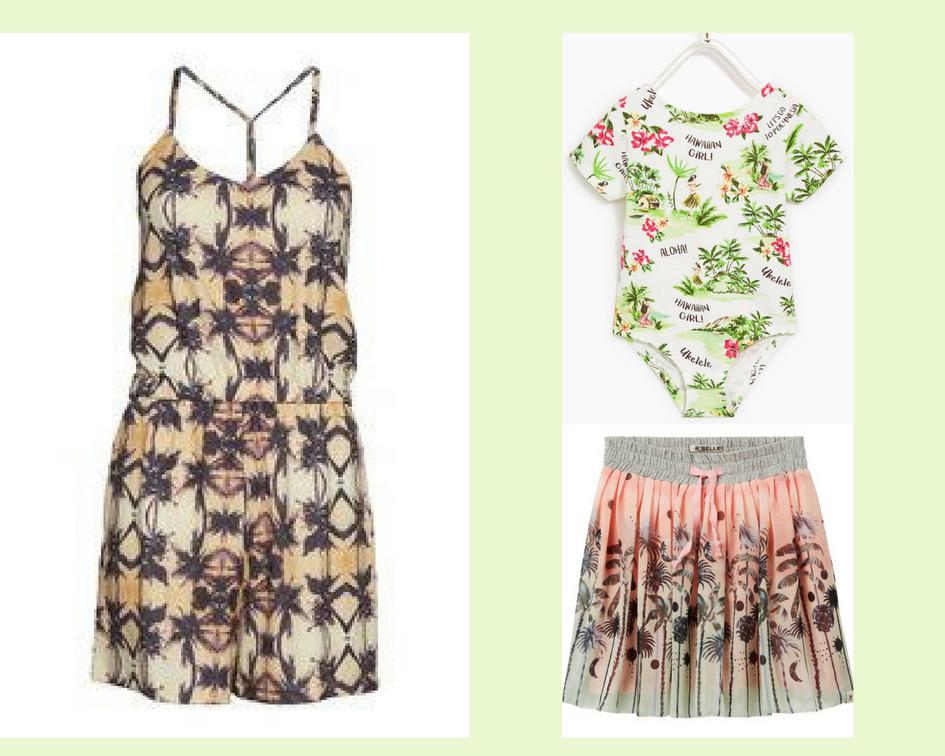 botanical prints, botanical kleding