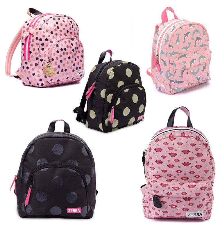 rugzakken van zebra trends, zebra trends tassen, meisjestassen
