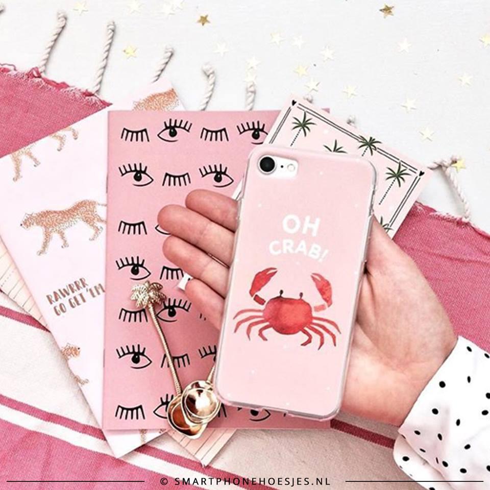 roze telefoonhoesjes smartphonehoesjes.nl