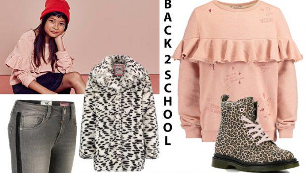 Back2school, back to school, nieuwe schooloutfits, meisjeskleding winter 2018-2019, girlslabel