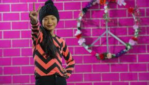 Lava Lava winter 2018-2019, kleurrijke meisjeskleding, meisjessweater, ibiza look