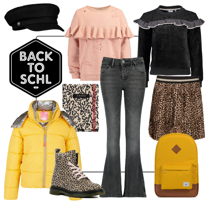 back to school, back2school, stoere meisjeskleding, girlslabel, kinderkleding 2018-2019, schoolkleding