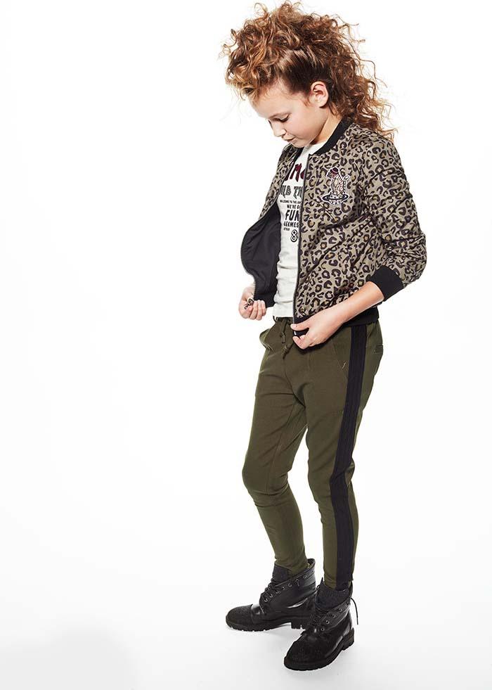 outfit of the day, outfit of the day meisjeskleding, hippe meisjeskleding set, tijgerprint kleding