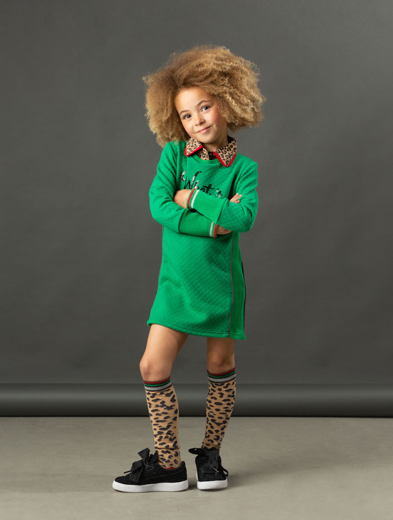 kniekousen luipaardprint, trendy kniekousen, meisjes kniekousen, kniekousen, quapi girls, quapi kniekousen, roze kniekousen