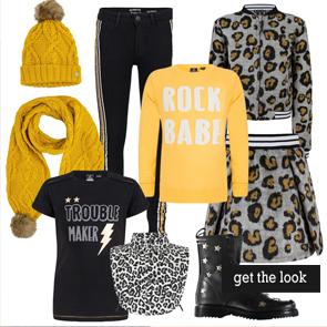 get the look, shop te look, online meisjeskleding shoppen, meisjeskleding styling, hippe meidenkleding, girlslabel