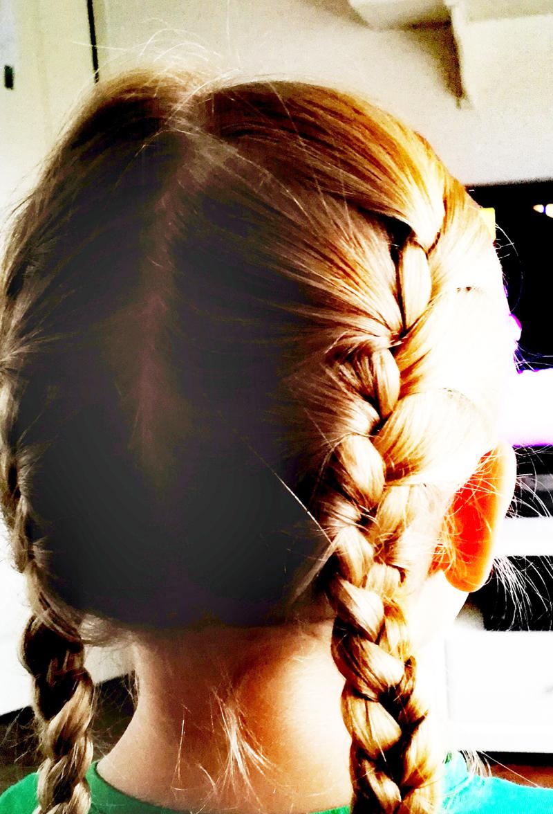 meisjes kapsels, lange haren, haren invlechten