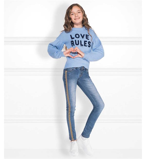 nik-and-nik-skinny-jeans-g2-080-fiona-st-blue-denim_nik&nik, love rules, blauwe sweater, jeans met streep