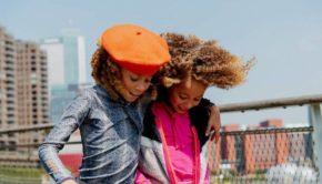 ninni-vi-ninni-vi-meisjes-baret-orange, herfstcollectie, meisjeskleding