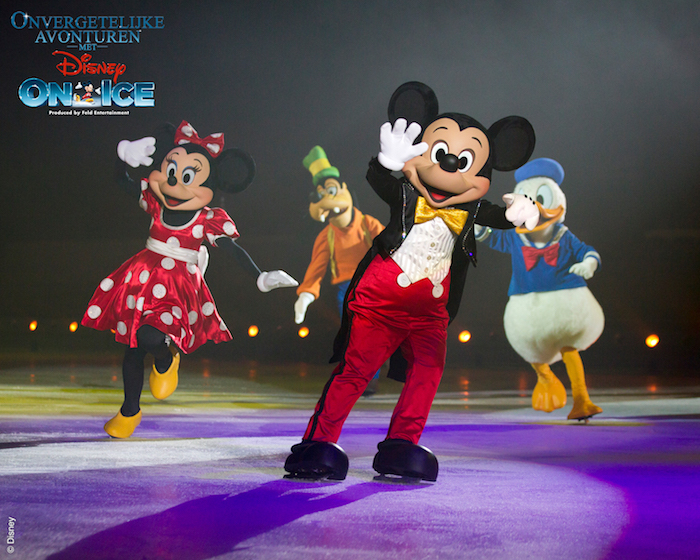 mickey mouse, disney on ice, onvergetelijke avonturen met disney on ice