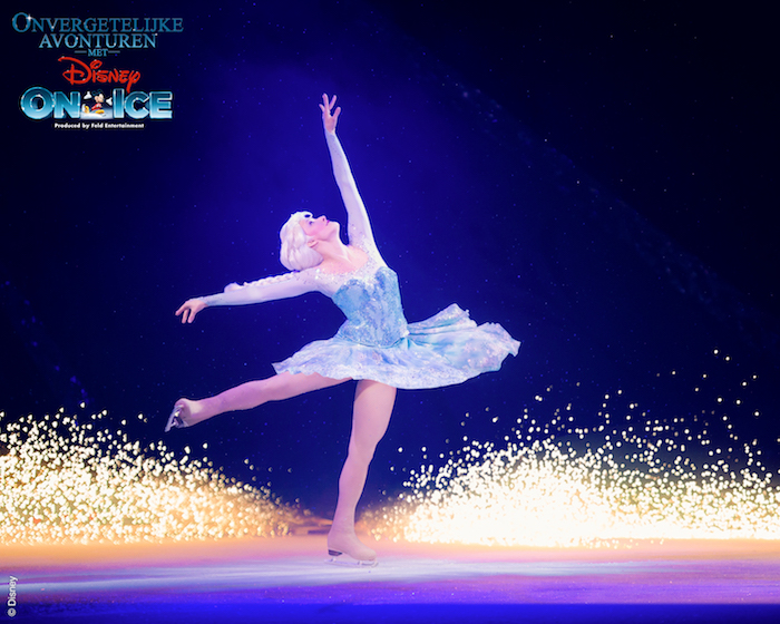 onvergetelijke avonturen met disney on ice, frozen elsa, frozen disney on ice, disney on ice