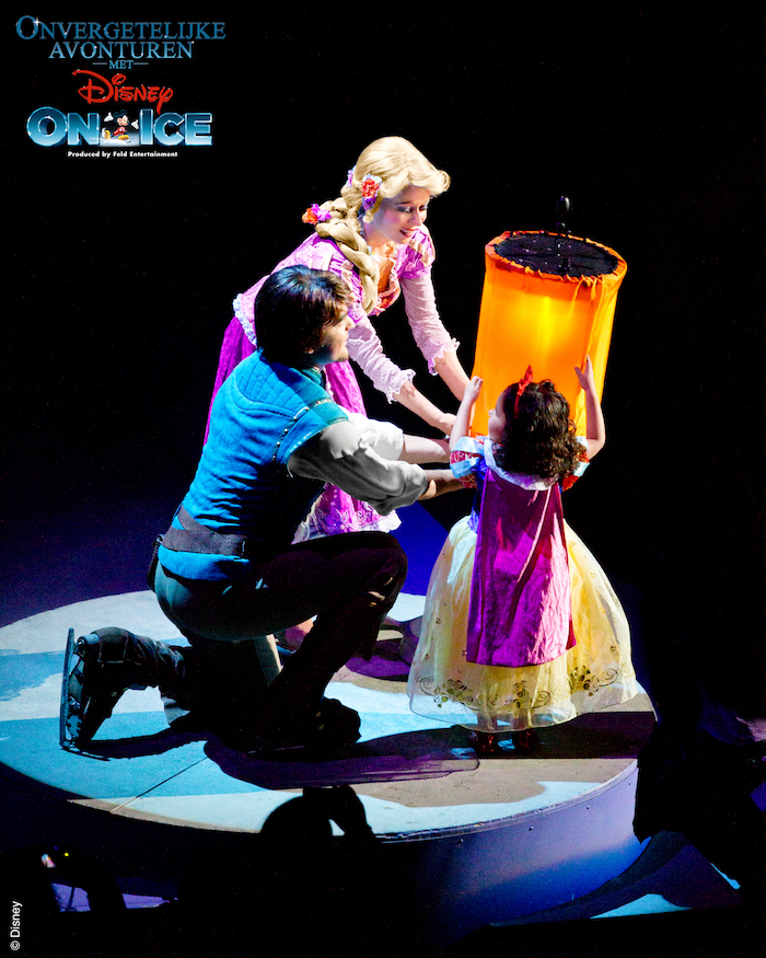 rapunzel disney on ice, rapunzel, disney on ice, onvergetelijke avonturen met disney on ice