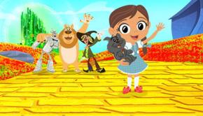 Dorothy en de Tovenaar van Oz, boomerang, tv serie
