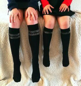 twinning kniekousen, kniekousen meisjes, twinning sokken, bonnie doon, bonnie doon sokken, naadloze sokken, meisjessokken