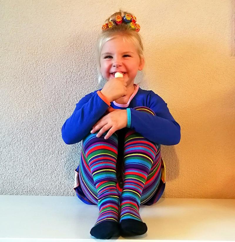 gestreepte maillot, maillots, twinning sokken, bonnie doon, bonnie doon sokken, naadloze sokken, meisjessokken