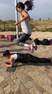 healthy fest 2018, healthy fest, hotel van oranje, kettlebell, bootcamp workout