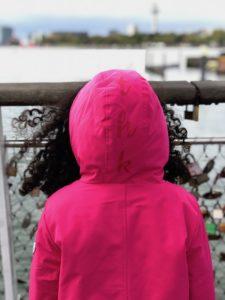 the harbour kids winterjas, he harbour kids review, the harbour kids, roze parka, roze winterjas, winterjas meisjes