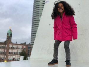 the harbour kids winterjas, the harbour kids review, the harbour kids, roze parka, roze winterjas, winterjas meisjes