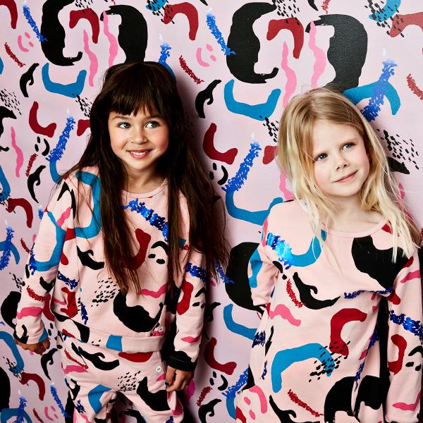 Jurk+Wright, nop kidswear, nop jurk, stoere jurken voor meisjes, nop sweatdress