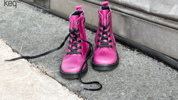Kinderschoenen najaar winter 2018, roze boots, meisjeslaarzen