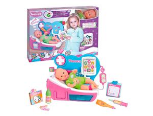 babypop, doktersset speelgoed