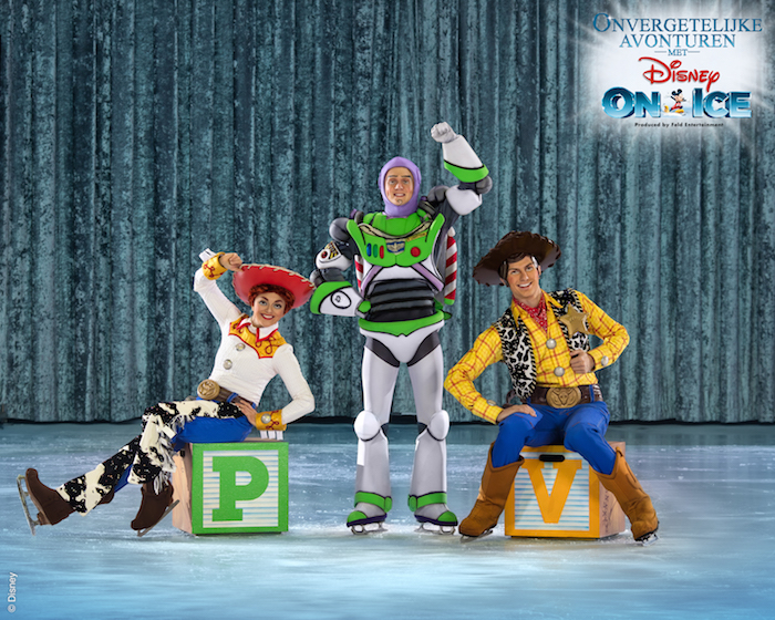toystory disney on ice, toystory, disney on ice, onvergetelijke avonturen met disney on ice