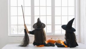 halloween met gezin, halloween 2018, halloween kostuum, heksenpak, heksenhoed