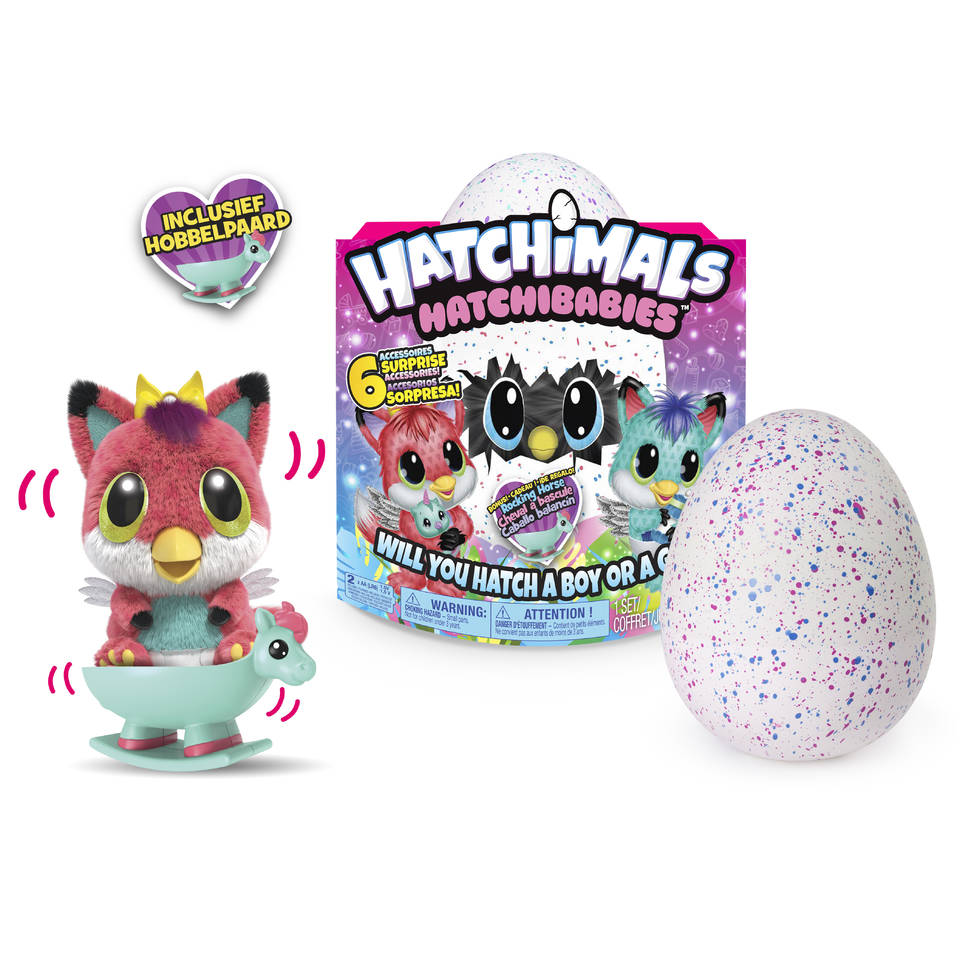speelgoed top 10, meisjesspeelgoed, populair meisjesspeelgoed, hatchibaby, hatchimals, hatchibabies foxfin