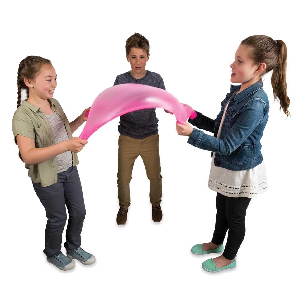 orb slimy, populair meisjesspeelgoed, cadeautips, sinterklaastips meisje, sinterklaascadeaus meisje, elasti slijm, mega slijm