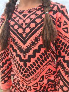 lavalava review, bohemian trend, lavalava, zazi brands, aztec jurk, aztec print, bohemian meisje