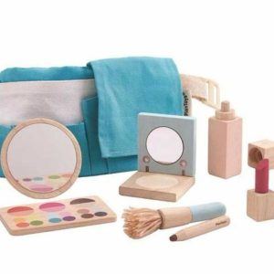 cadeautips voor peutermeisjes, sinterklaascadeaus meisjes, sinterklaastips meisjes, plantoys, houten make up set