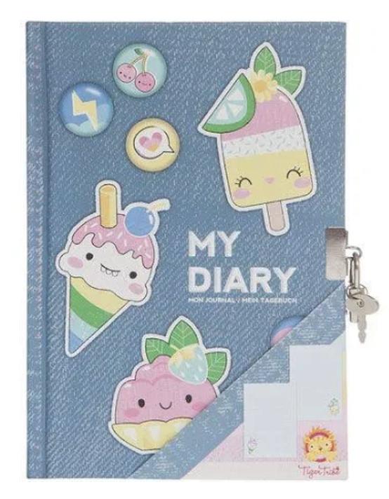tiger tribe, bertoy, dagboek, meisjesdagboek, meisjesspeelgoed, dagboek meisje, my diary