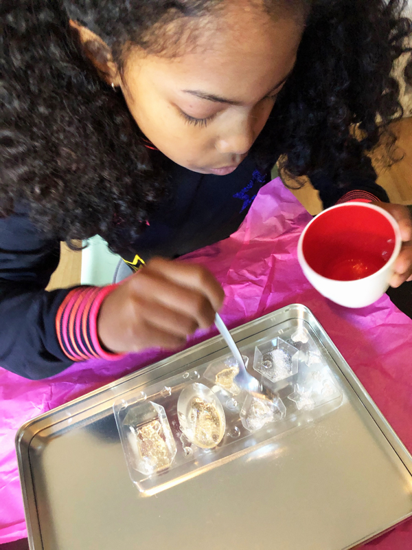 knutselen, zelf zeep maken, knutselset