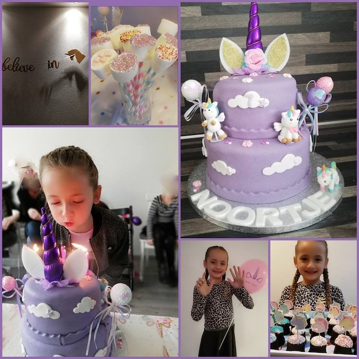 unicorn taart, thema verjaardag unicorn, traktatie unicorn, traktatie eenhoorn, unicorn party, unicorn feest