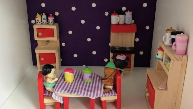 poppenhuis meisjeskamer, poppenhuis diy, poppenhuis, poppenhuis ikea, poppenhuis lidl